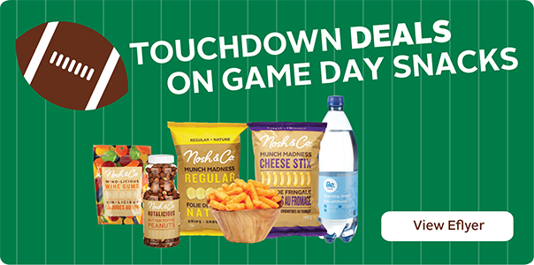 Touchdown Deals on Gameday Snacks