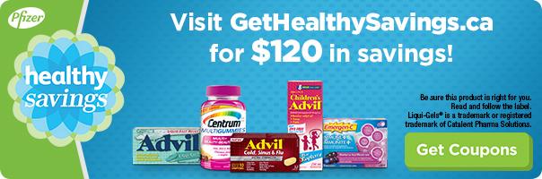 Get $120 in savings at GetHealthySavings.ca.