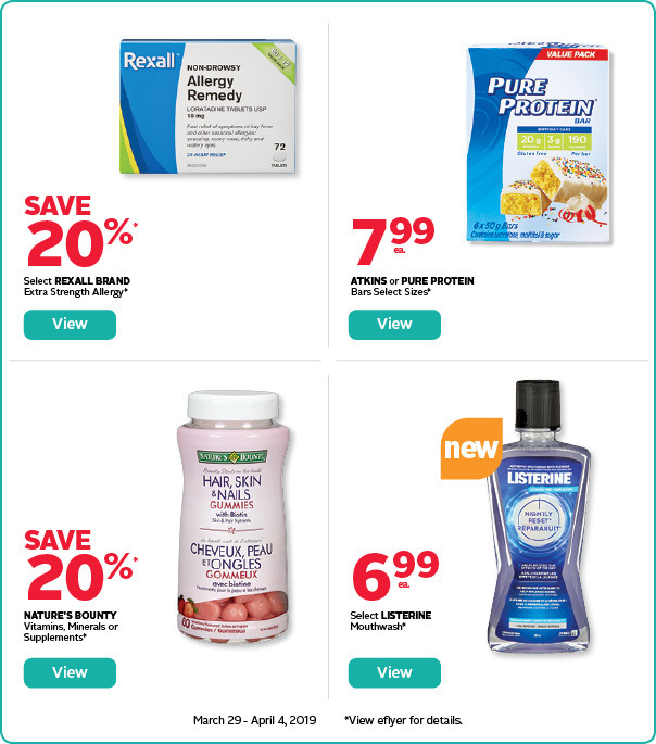 Save on select wellness & personal care products.