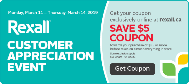 Get $5 coupon for our customer appreciation event.