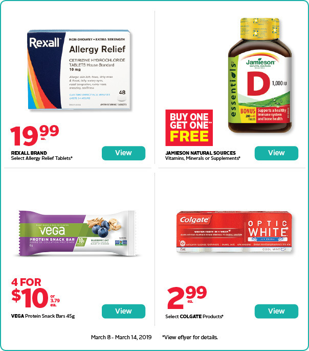 Save on select wellness products and supplements.