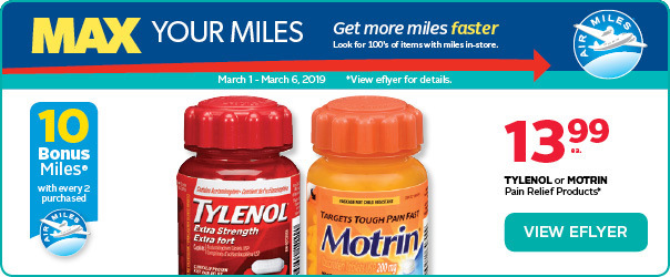 Max your AIR MILES® Bonus Miles with these deals.
