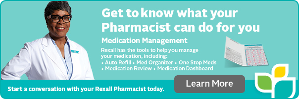 Get to know your Rexall pharmacist today.